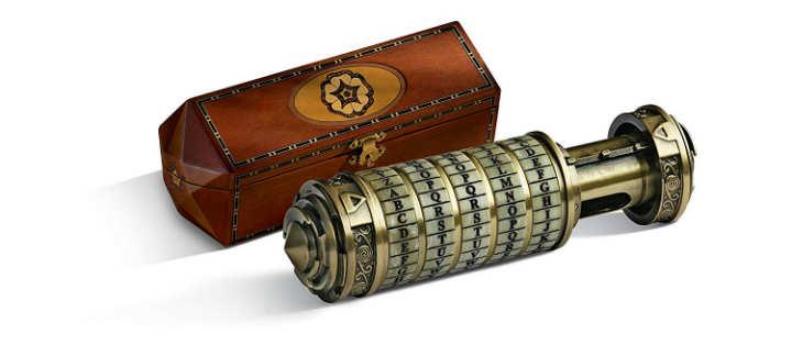 Mini Cryptex Código Da Vinci El Noble Collection